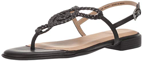 Naturalizer Womens Thongs - SOUL Naturalizer Women's READY Sandal, BLACK, 8.5 M US