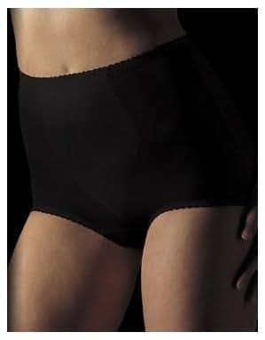 Bali Women's Light Control Tummy Panel Brief, Black, 3X-Large