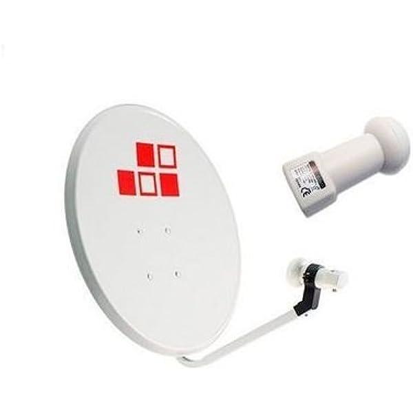 Diesl.com - Kit Antena Parabólica 120cm + LNB Blanca sin ...