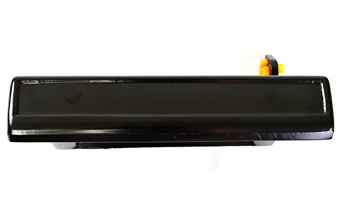 - PT Auto Warehouse GM-3080S-FL - Outside Exterior Outer Door Handle, Smooth Black - Driver Side Front