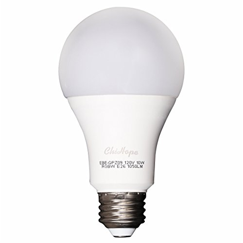 Smart LED Light Bulb, ChiHope, WIFI Bluetooth APP Control,100W Equivalent,A19 E26 Dimmable 1050-Lumen, Multicolor(2700K), Compatible with Alexa,Google Assistant.
