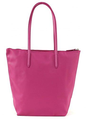 LACOSTE L.12.12 Concept Vertical Shopping Bag Festival Fuchsia