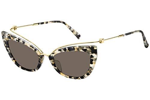 Max Mara MM Marilyn/G XNZ Beige/Havana MM Marilyn/G Cats Eyes Sunglasses ()