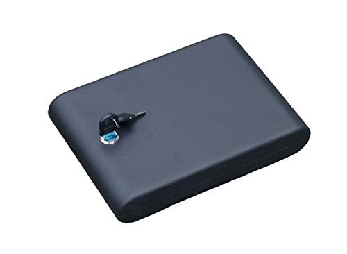 Tiangtech® Metal Safe Box with Key | Portable Security Case for Valuables by Tiangtech®