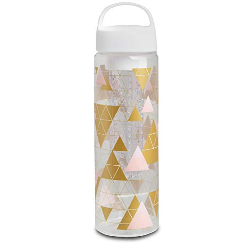 (Laura Ashley Bottle Infuser, Gold Triangles )