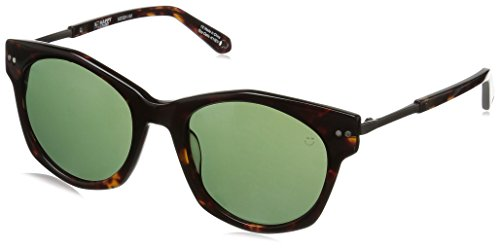 Spy Optic Unisex Mulholland Happy Lens Collection Sunglasses, Dark Tort/Grey Green, One Size Fits (Spy Optic Metal)