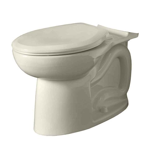 delicate American Standard 3717C001.222 Cadet 3 FloWise Elongated Toilet Bowl Only in Linen