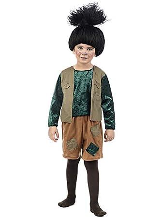 Limit Disfraz de Troll Negro para bebé: Amazon.es: Juguetes y juegos