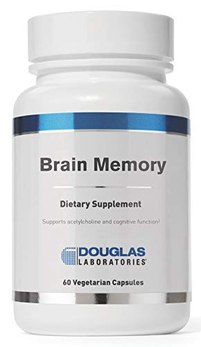 Nutrients Brain (Douglas Laboratories - Brain Memory - Combination of Nutrients Designed to Help Keep the Mind Sharp* - 60 Capsules)