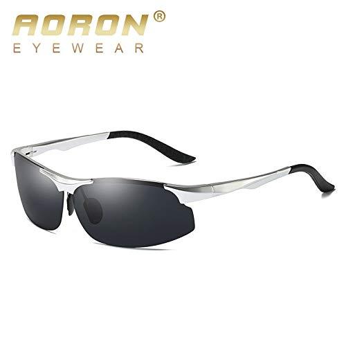 Homme Soleil de Lunettes polarisants pour sunglasses à magnésium Lunettes en Anti Verres Sport HD Vision Mjia A de Aluminium Reflets Lunettes en 8XC0q