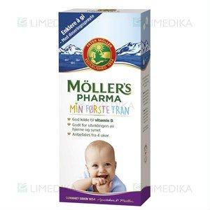 Oil mollers fish Möller's Omega