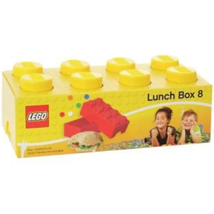 Caja de almuerzo de ladrillo Lego 8 - Amarillo. Bolsa de ...