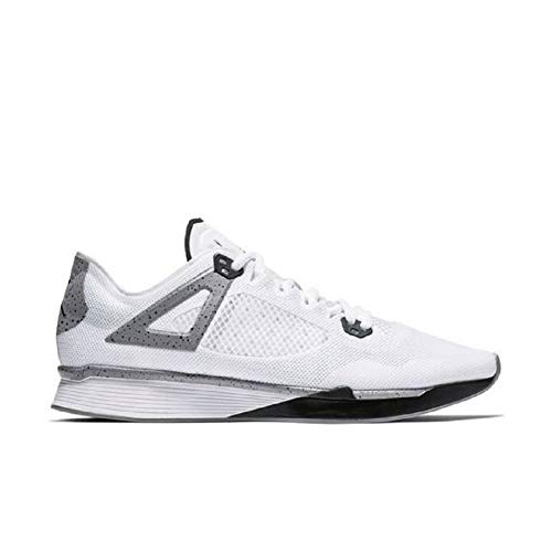 Jordan 89 Racer Mens Style- AQ3747-100 Size- 10, White/Black-cement Grey (Top 10 Best Shoe Brands)