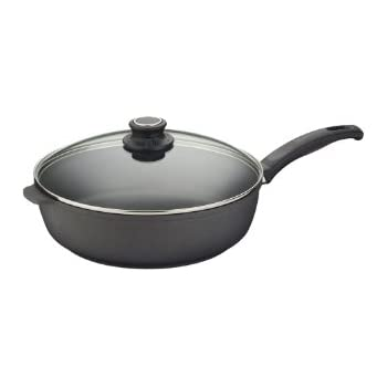 Amazon Com Swiss Diamond Nonstick Saute Pan With Lid