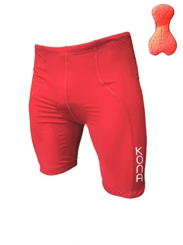 Men's KONA Triathlon Shorts with 2 rear pockets for energy gels