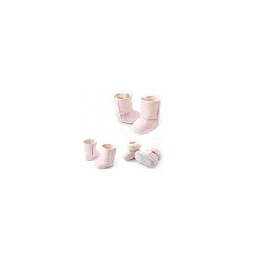 Botas flexibles bebé, modelo rosa claro 3/6Meses, 6/9Meses, 9/12Meses, 12/15meses, 15/18Meses rosa rosa Talla:15/18 mois