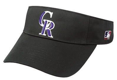 Colorado Rockies Officially Licensed MLB Adjustable Velcro Adult Visor