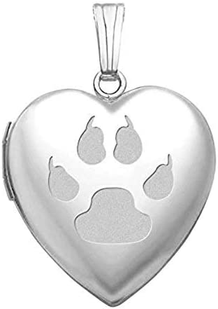 3 Piece Set ~ I LOVE my Cat ~ Heart /& Paw Prints ~ Memory Locket Floating Charms
