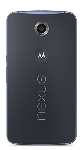 Google Nexus 6 (XT1100) Unlocked GSM Phone, 64gb (Cloud White), Newest Version - International Version No Warranty