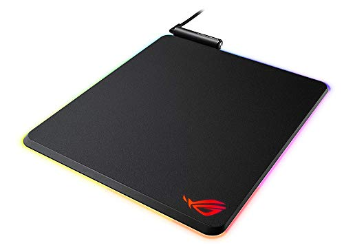 ASUS ROG Balteus RGB Gaming-Mauspad (Aura Sync, USB-Passthrough, rutschfest)