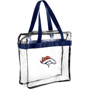 2013 Messenger Bag NFL Football Clear See Thru - Pick Team (Denver Broncos) by Forever Collectibles