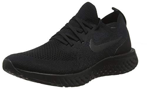 Nike Mens Epic React Flyknit Running Shoes Black/Black/Black AQ0067-003 Size 9