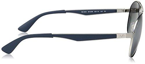 Ray-Ban Mens Metal Man Aviator Sunglasses, Matte Gold, 58 mm