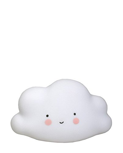 A Little Lovely Company, Nachtlich Wolke, Cloud night lamp, white