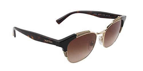 Valentino VA4027 Black/Brown Lens Sunglasses