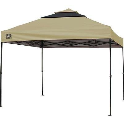 Quik Shade Summit SX170 10'x10' Instant Canopy with Adjustable Dual Half Awnings