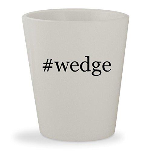 Stuart Weitzman Black Croc (#wedge - White Hashtag Ceramic 1.5oz Shot Glass)