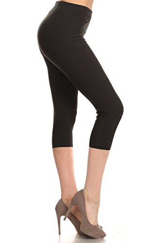 leggings-depot-womens-butterknit-capri-cropped-printed-leggings-tights-batch4-black