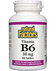 B6 by Natural Factors - 90 tablets, 50 mg