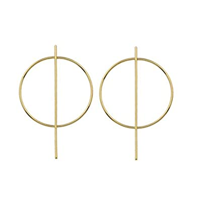 Nikita By Niki ® Small Geometric Hoop Earrings HD9z2ZiIwu
