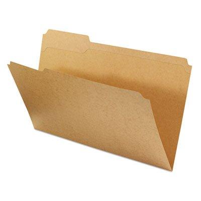 0.33 Assorted Tab (Universal 16143 Kraft File Folders, .33 Cut Assorted, Top Tab, Legal, Kraft, 100-Box )