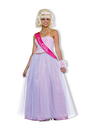 Forum Novelties Women's Flirting with The 50's Prom Queen Costume, Pink, Standard