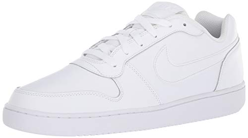 Nike Men's Ebernon Low Basketball Shoe, White, 9.5 Regular US (One Shoes Basketball)