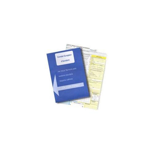Constat amiable d'accident homologué toutes assurances