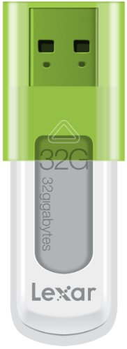 Lexar JumpDrive S50 32GB USB Flash Drive LJDS50-32GABNL (Green)