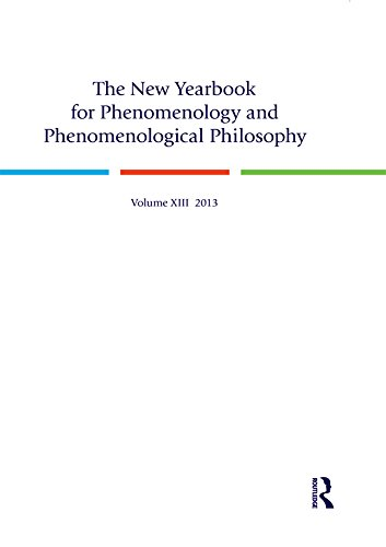 Download The New Yearbook for Phenomenology and Phenomenological Philosophy: Volume 13 Pdf