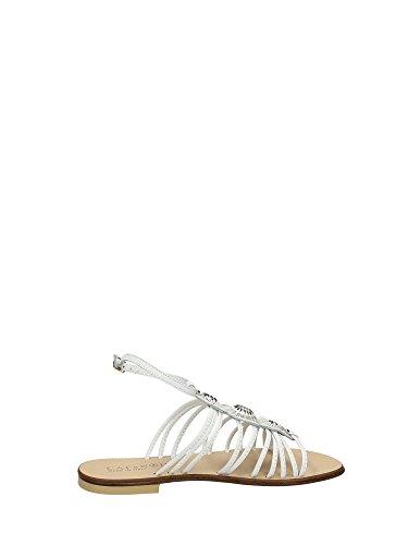 CAFèNOIR Cafè Noir QFD109 Sandalo Una Lista de Precios EN Carne de Ternera con Piedras y Esclavo E15.203 BIANCO