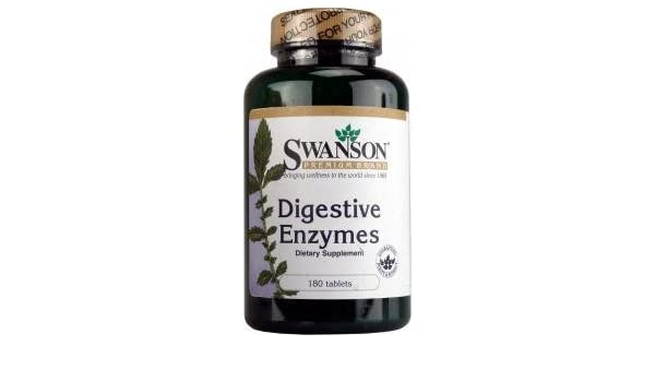 Swanson Digestive Enzymes (180 Tablets): Amazon.es: Electrónica