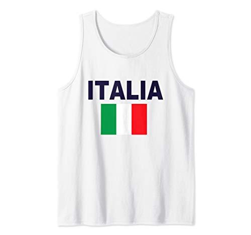 (Italia Flag T-Shirt Italy Cool Italian Flags Gift Top Tee Tank Top)