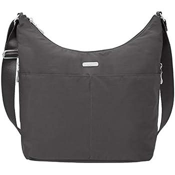 1ab5e8eac567 Baggallini Hobo Tote Handbag Functional Pockets Crossbody (Charcoal)