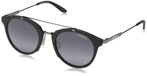 (Carrera Men's Ca126s Round Sunglasses, Black Dark Ruthenium/gray Gradient, 49 mm)