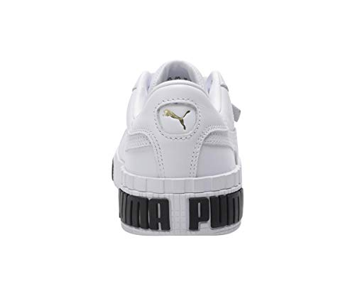 Puma Damen Cali Bold WN's' Sneaker, White-Metallic Gold 01, 38 EU 6