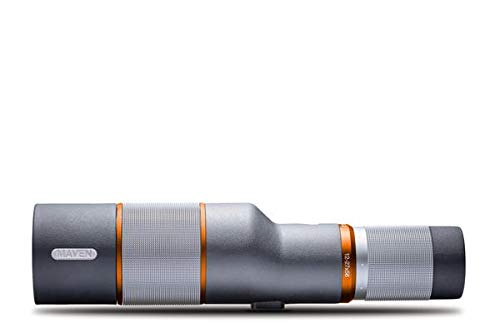 Maven S.2 12-27 X 56mm Compact Spotting Scope FL Gray/Orange