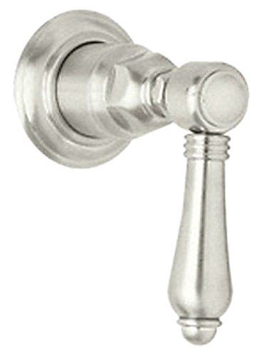 Cross Handle Rohl (Rohl A4912XMPNTO Country Bath Trim Package Volume Control with Cross Handle, Polished Nickel)