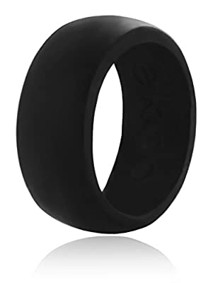 Ekco Band 100% Premium Silicone Wedding Band ★Top Rated ★High Performance Men's Silicone Wedding Ring