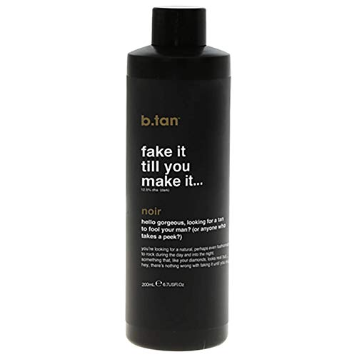 b.tan Self Tan Mousse - Fake It Till You Make It - Sunless Tanner for Fast, Natural Looking Tan, 6.7 Fl Oz from b.tan